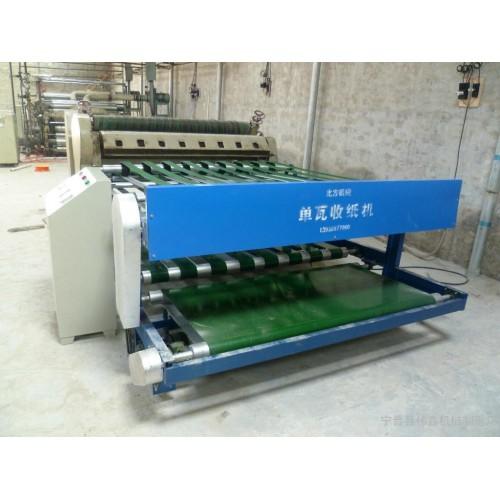 纸箱单瓦自动收纸机-- 宁晋县伟鑫机械制造厂