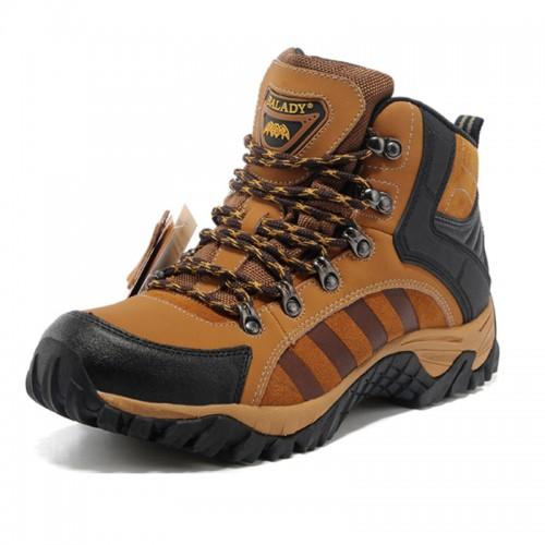 BALADY帕莱汀 新款高帮透气登山鞋男士户外徒步鞋防水越野鞋-- 莆田市昌泰贸易有限公司