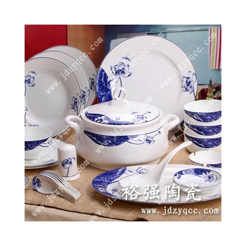 【陶瓷餐具图片】乔迁礼品及福利礼品餐具-- 景德镇裕强陶瓷有限公司