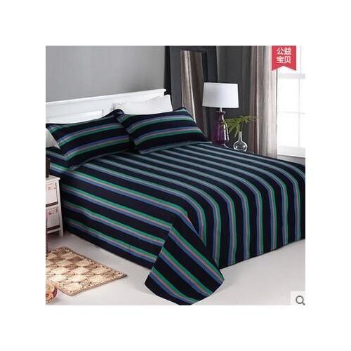 百布堂   床上用品  老粗布家纺  简约格子三件套  纯棉-- 湖北百布堂手工家纺有限公司