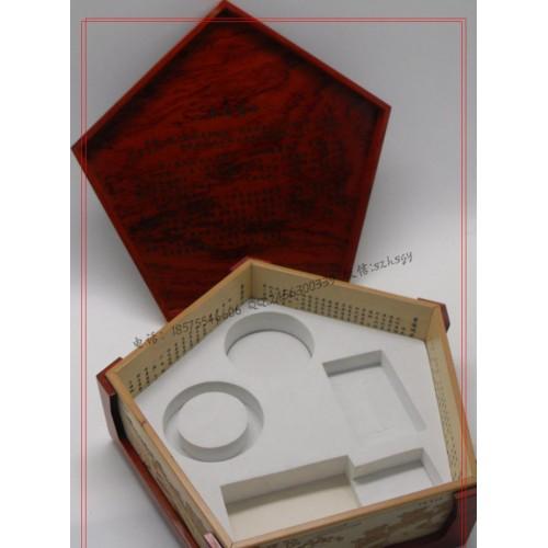 蓝田玉礼盒包装 蓝田玉木盒包装批量生产-- 深圳市鸿胜三联工艺品有限公司
