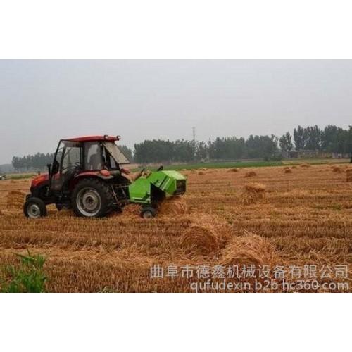 全自动玉米杂草秸秆捡拾打捆机 大量现货批发零售-- 曲阜市德鑫机械设备有限公司