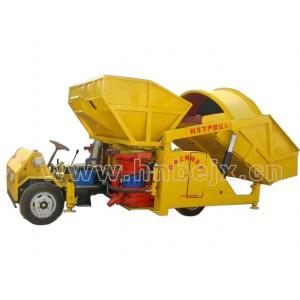 PZ-7型自动上料喷浆车(拖拉机头式)