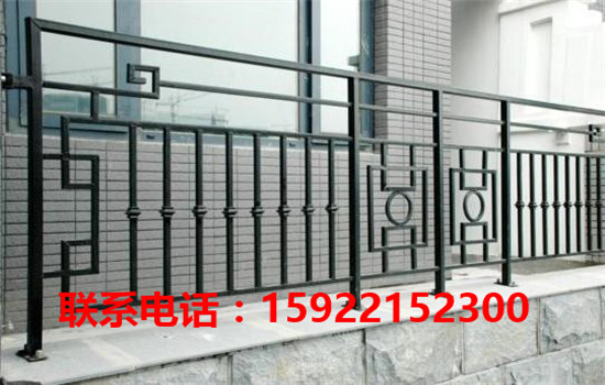 天津铁艺护栏安装  天津铁艺护栏厂家-- 天津福瑞林铁艺卷帘门公司
