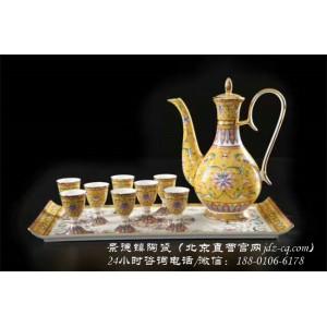 北京景德镇陶瓷酒具定制厂家 北京景