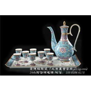北京景德镇陶瓷酒具套装定制厂家