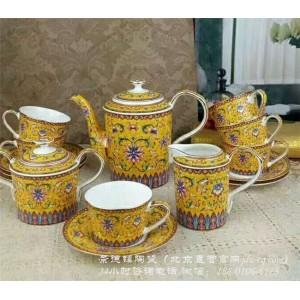 北京景德镇陶瓷咖啡具定制厂家 北京