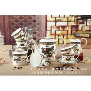 北京景德镇陶瓷咖啡具批发价格 北京