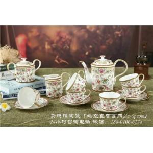 北京景德镇陶瓷咖啡用品定制厂家