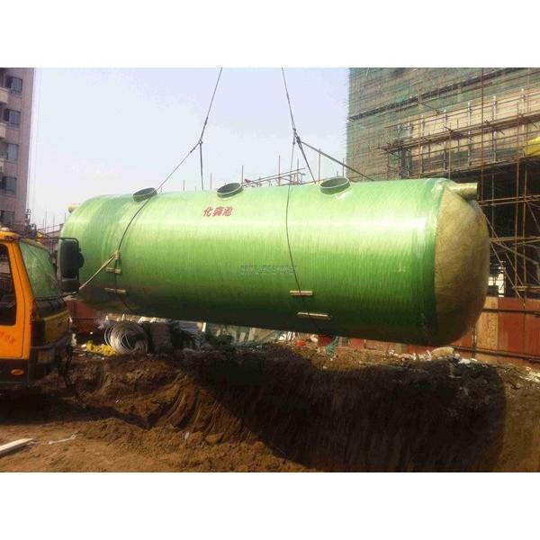 玻璃钢化粪池-- 河北华强科技开发有限公司