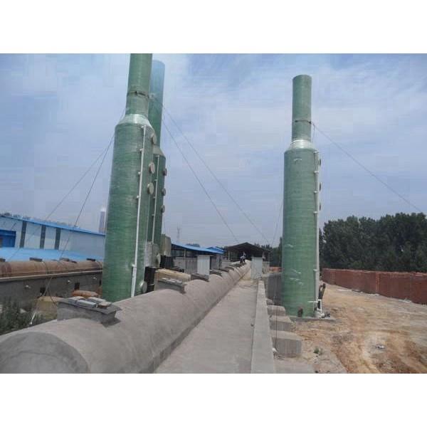 砖厂脱硫塔-- 河北华强科技开发有限公司
