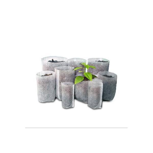 供应可降解无纺布园林绿化育苗营养袋基质网袋量大可优