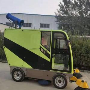 电动扫路车