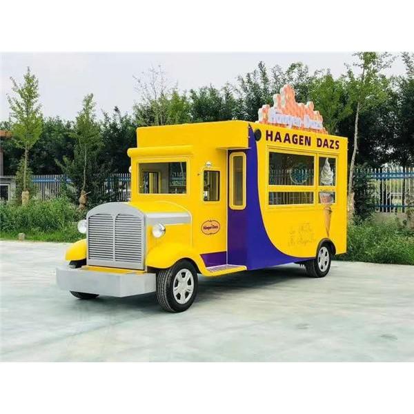 电动街景餐车-- 电动观光车 电动老爷车 电动消防车 电动巡逻车