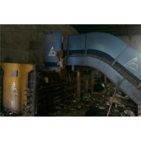 压缩打包机-- 工业垃圾处理厂家