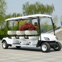 三排6座高尔夫电动观光车