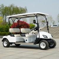 两排4座高尔夫电动观光车