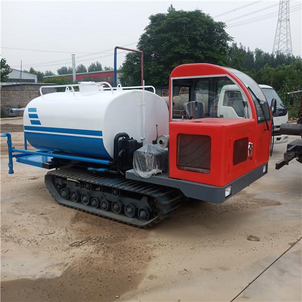 履带式洒水车-- 电动挂桶垃圾车生产厂家