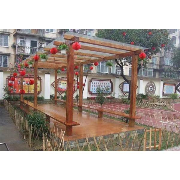 花架廊架系列-- 武汉防腐木厂家