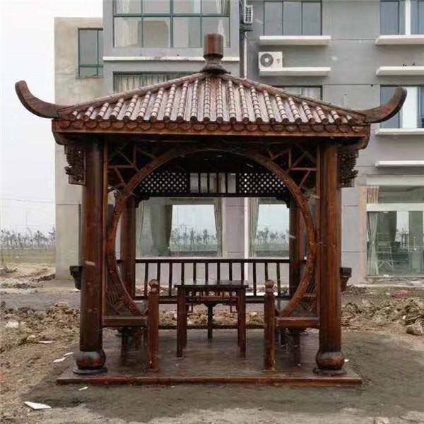 凉亭系列-- 武汉防腐木厂家