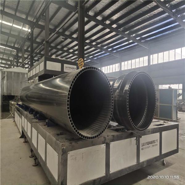 PVC-U双层轴向中空壁管-- PVC-U中空管PVC-UH管材PE管材厂家